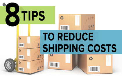 8 Tips to Reduce Shipping Costs