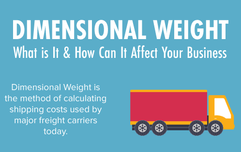 How Can Dimensional Weight Affect Your Business?
